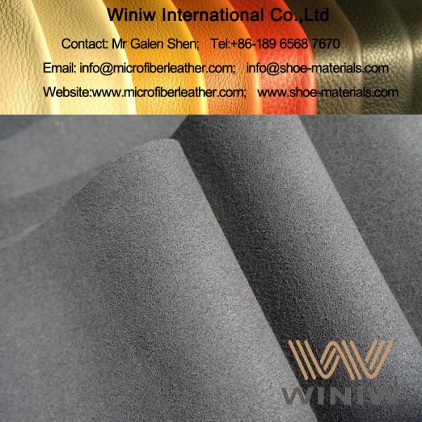 High Quality Micro Suede Leather for Shoe Lining