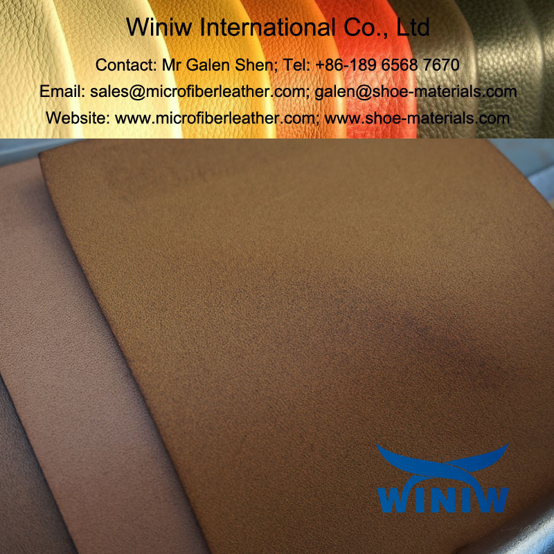 Burnish Microfiber PU Leather