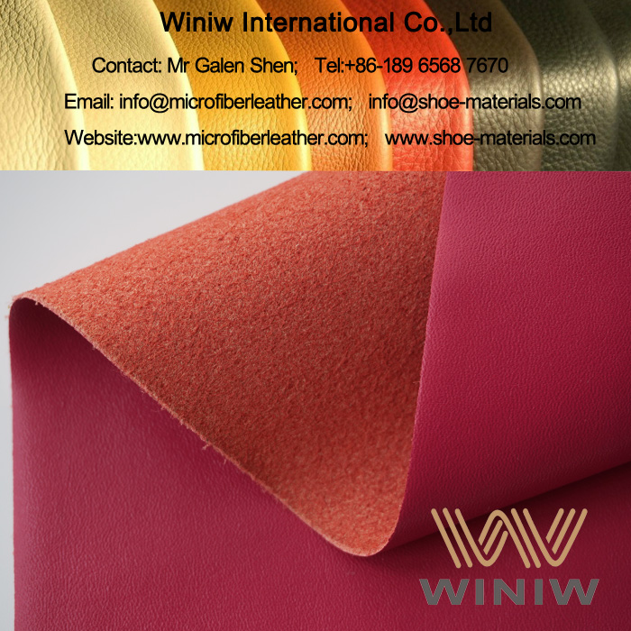 Microfiber Top Grain Leather