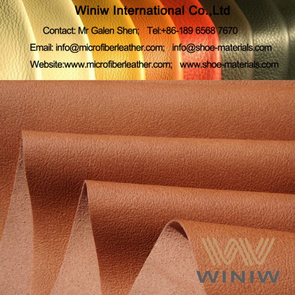 Sweat Absorption Microfiber Footwear Lining Materials