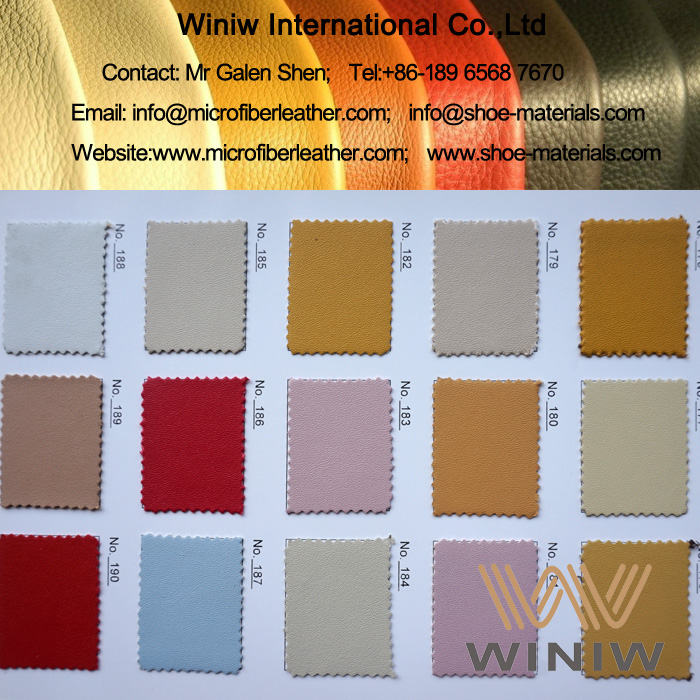 Synthetic Shoe Lining Leather
