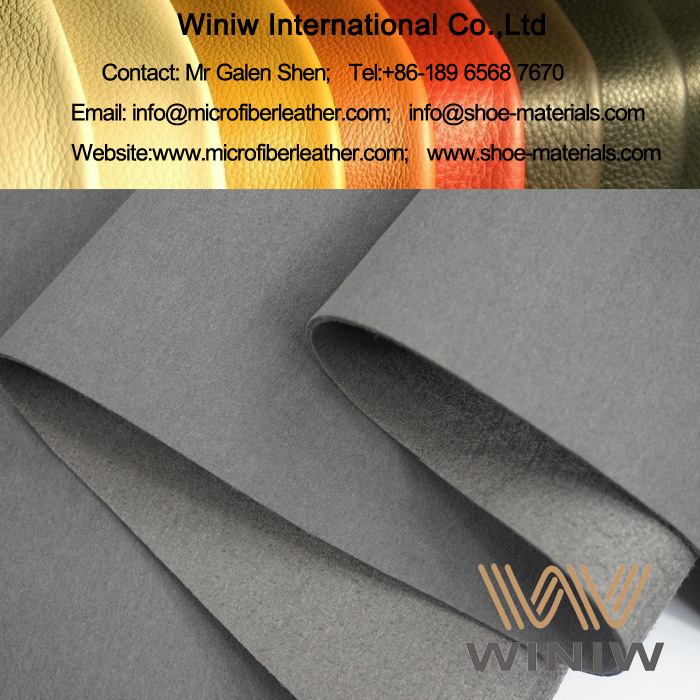 Waterproof Synthetic Suede Leather Fabric