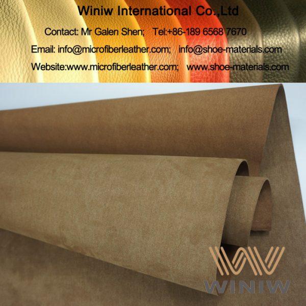 Microfiber PU suede leather
