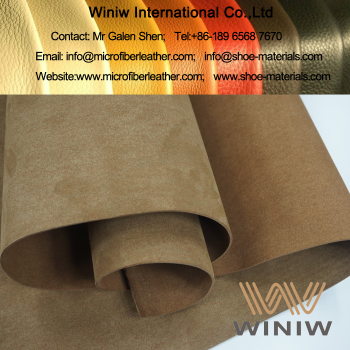 Microfiber Suede Leather for Boots