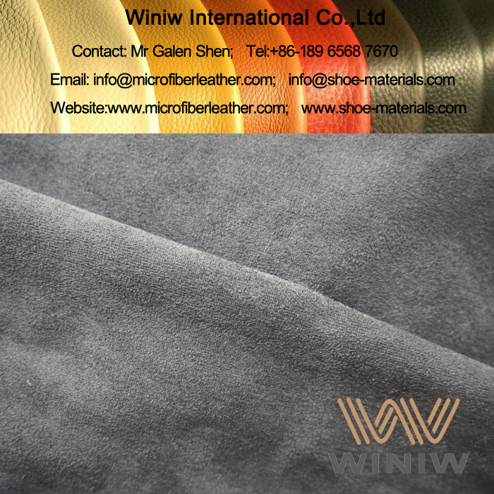 Stretch Microfiber Suede Fabric Material for Boots