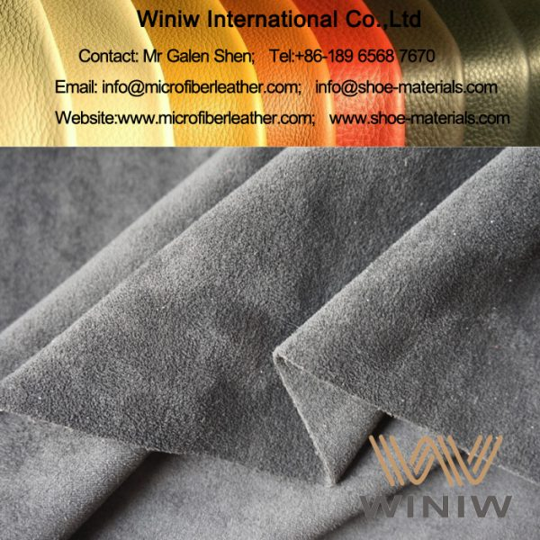 Stretch Microfiber Suede Fabric Material for Boots & Shoes