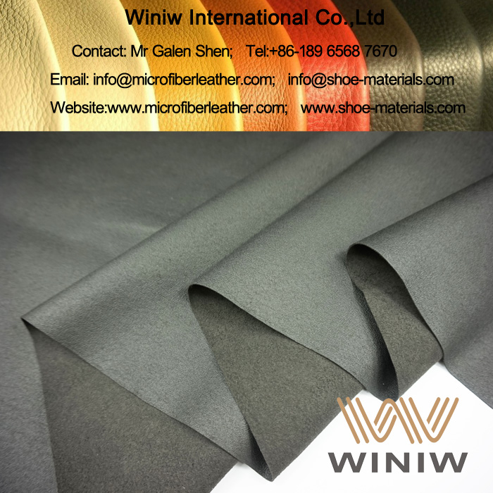 Microfiber Leather Material for Shoe Lining