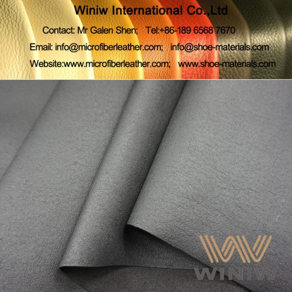 Microfiber PU Pig Skin Lining Leather