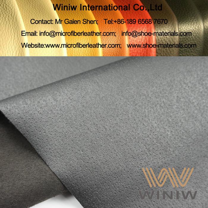 Microfiber PU Pig Skin Lining Leather
