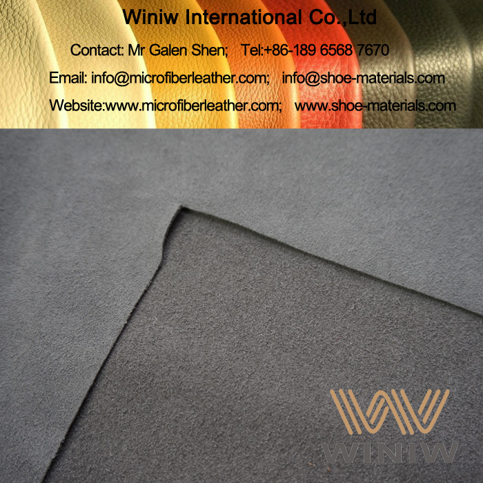 Synthetic Suede Material for Shoes Lining