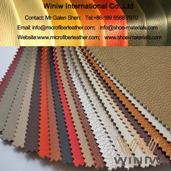 High Quality Breathable PU Leather Pigskin