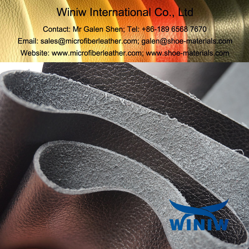 PU Microfiber Leather For Shoes