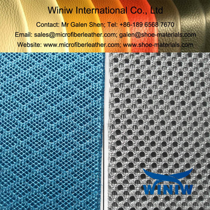 Polyester 3D Air Mesh Fabric for Sports Shoes