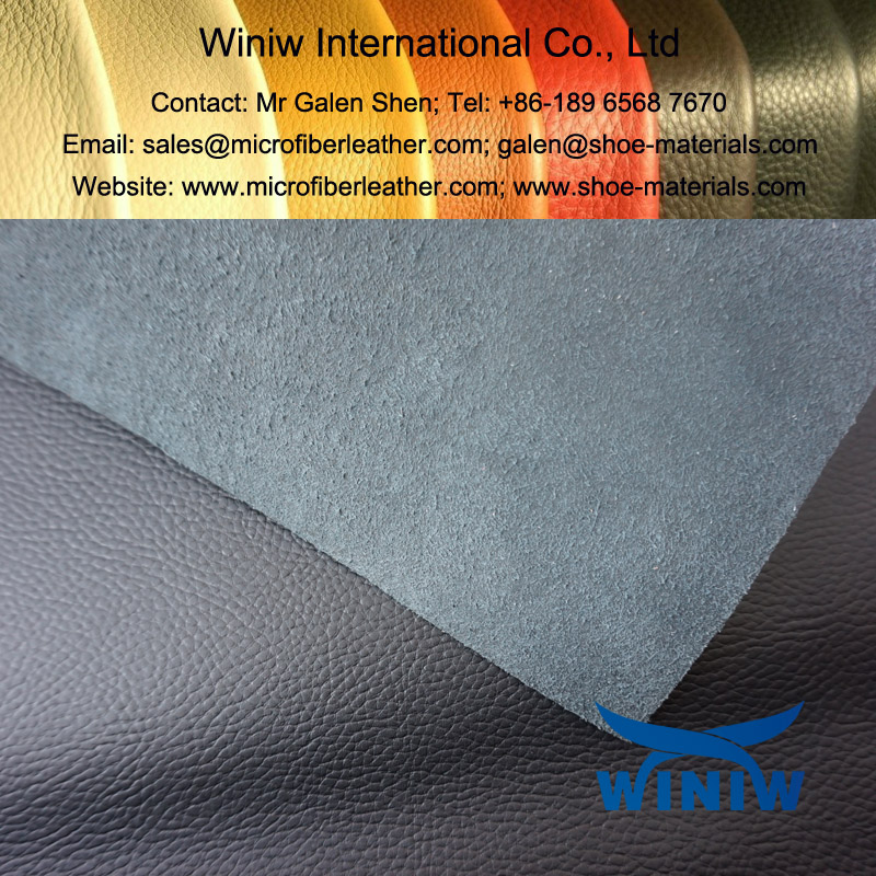 Barton Print Microfibre Leather