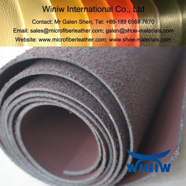 Microfiber Synthetic Leather for Industrial Safety Shoes and Boots