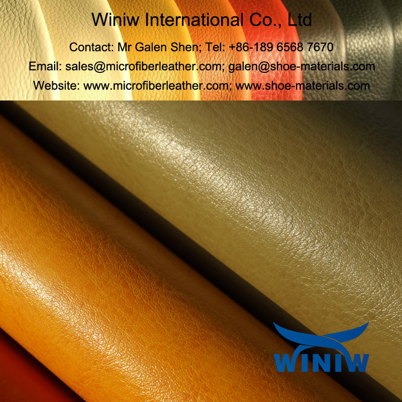 Microfiber Shoe Leather