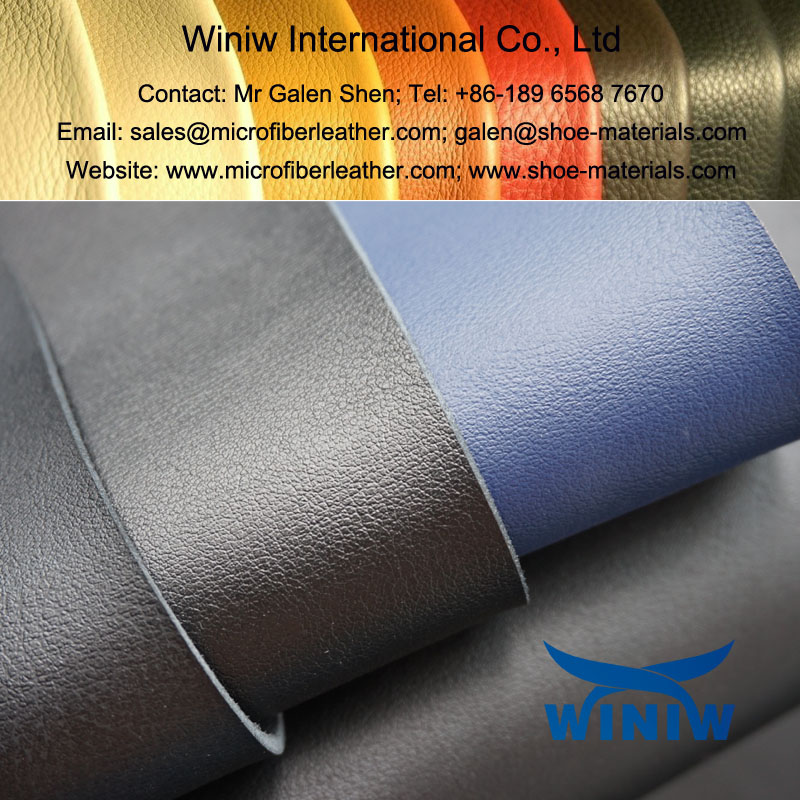 Microfiber PU Leather for Safety Shoes