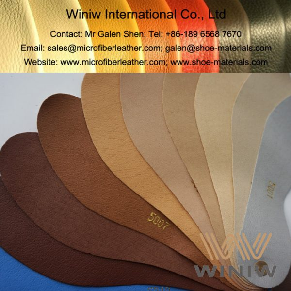 PU Shoe Lining Leather