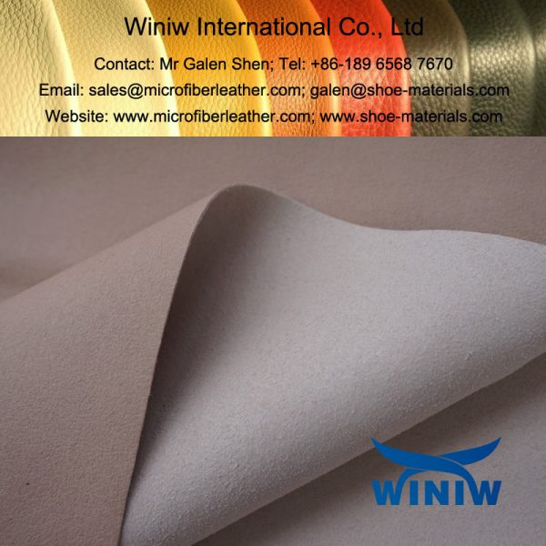 Absorbent Microfiber Material for Shoes Lining