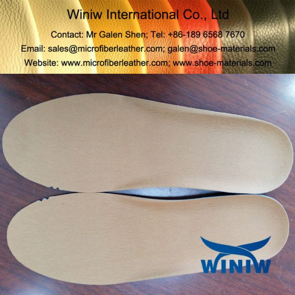 Sweat Absorbent Microfiber Material for Shoes Insole Lining