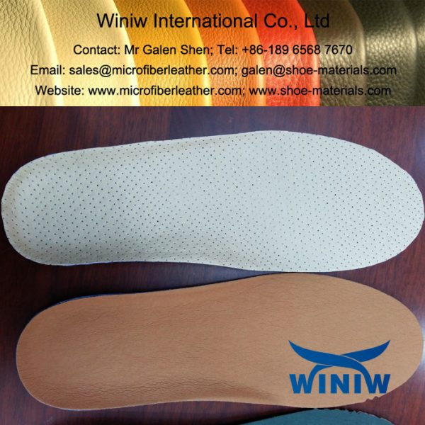 Microfiber Material for Shoes Insole Lining