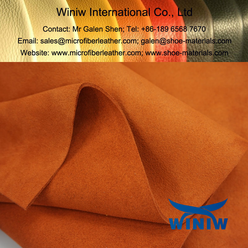 Synthetic Suede Leather for Shoes Upper