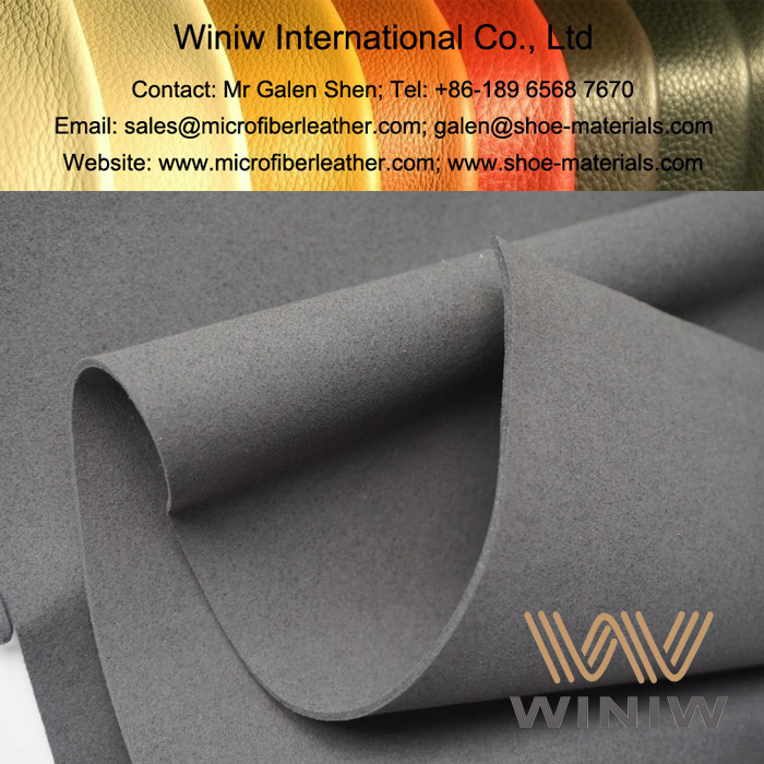 Micro Fiber Suede Leather Material