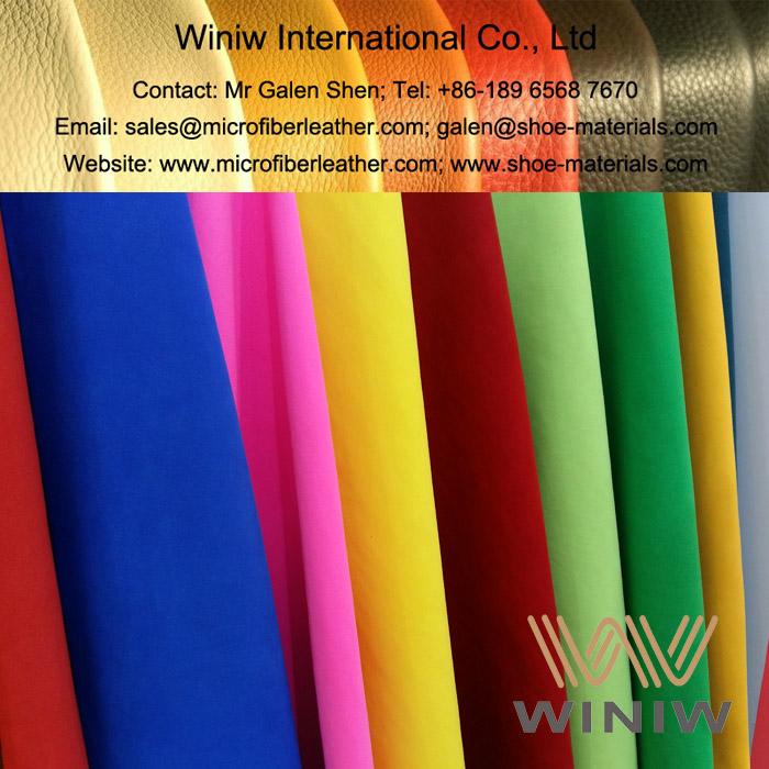 Microfiber Synthetic Suede Leather for Shoes Upper