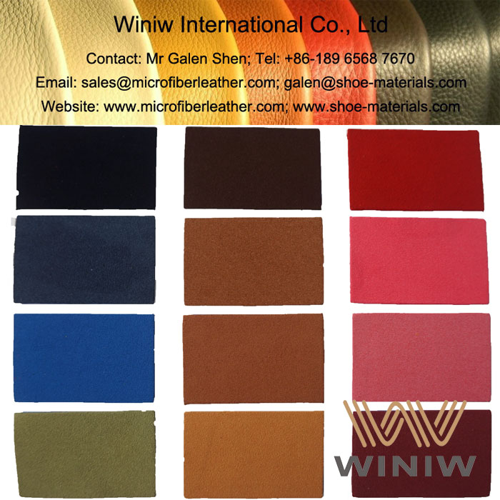 Microfiber Suede Leather for Shoes Upper