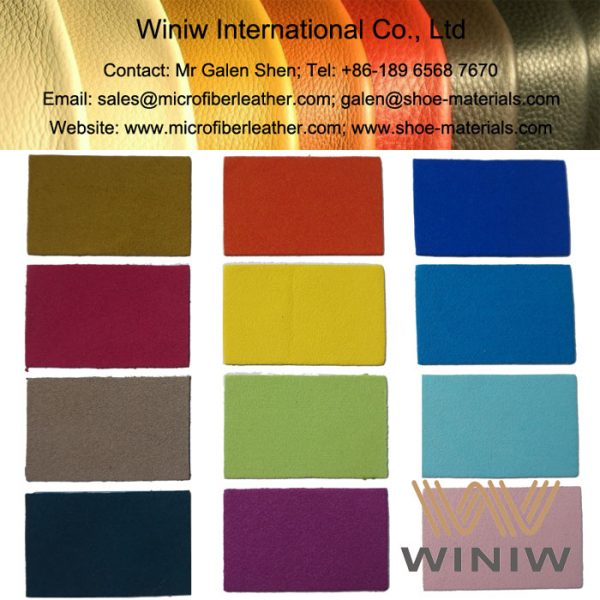 Best Quality Synthetic Suede Material for Shoes Lining