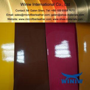 Microfiber Patent Leather