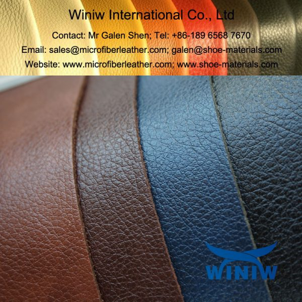 Polished Microfiber Leather 004