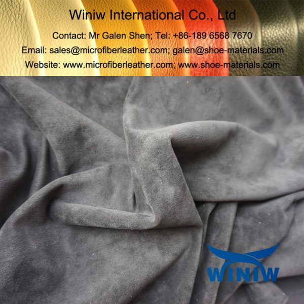 High Quality Faux Suede Fabric for Boots & Shoes