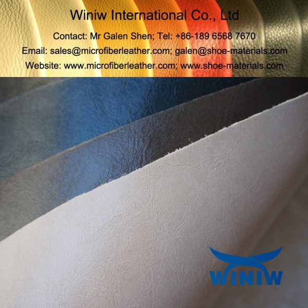 Waxy Microfiber Leather
