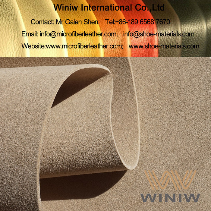 Microfiber Suede Synthetic Leather