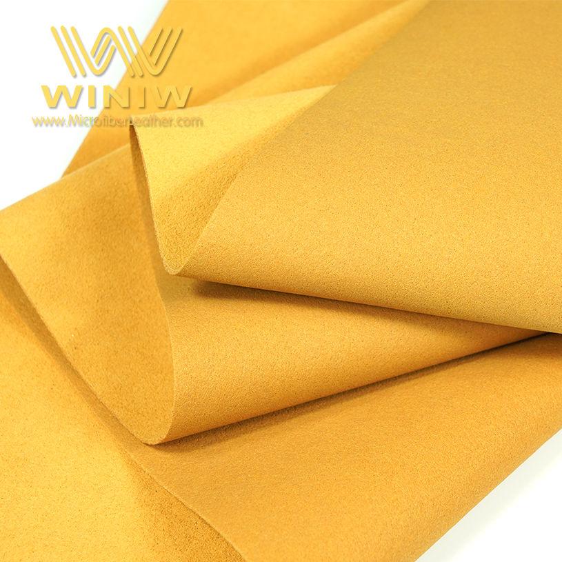 Antibacterial Microfiber Shoe Lining Fabric Materials